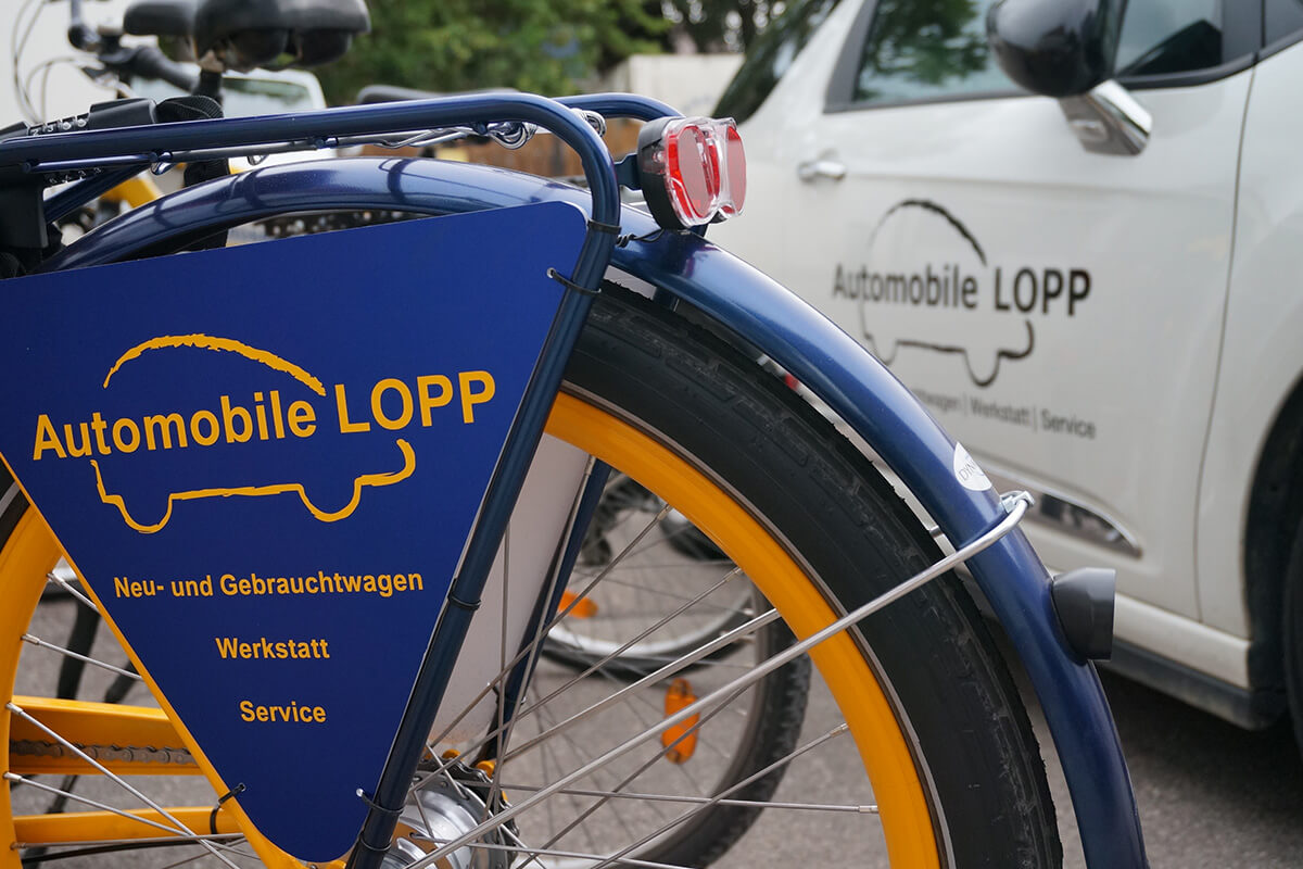 Automobile Lopp in Affing-Mühlhausen