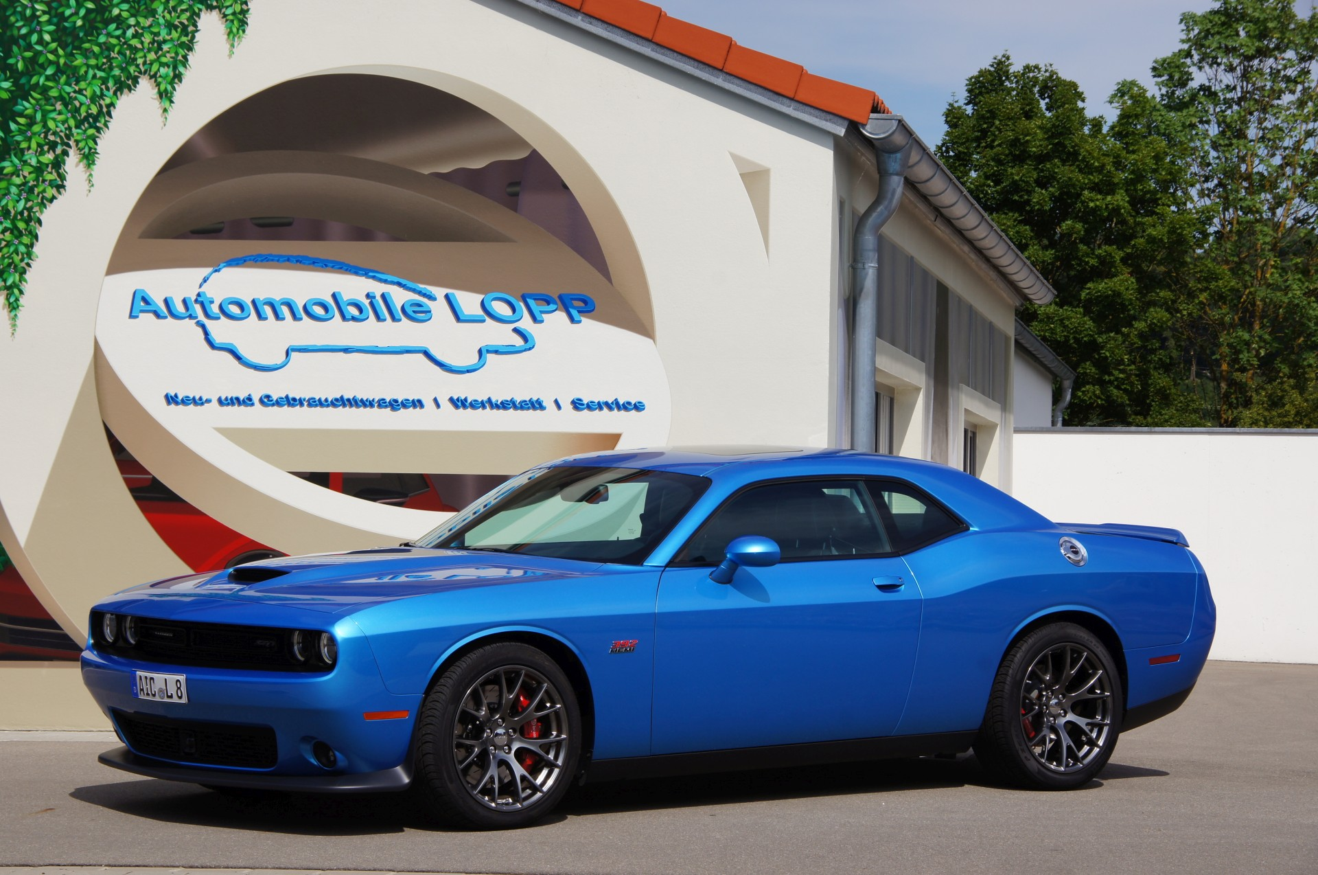 Dodge Challenger SRT 2016