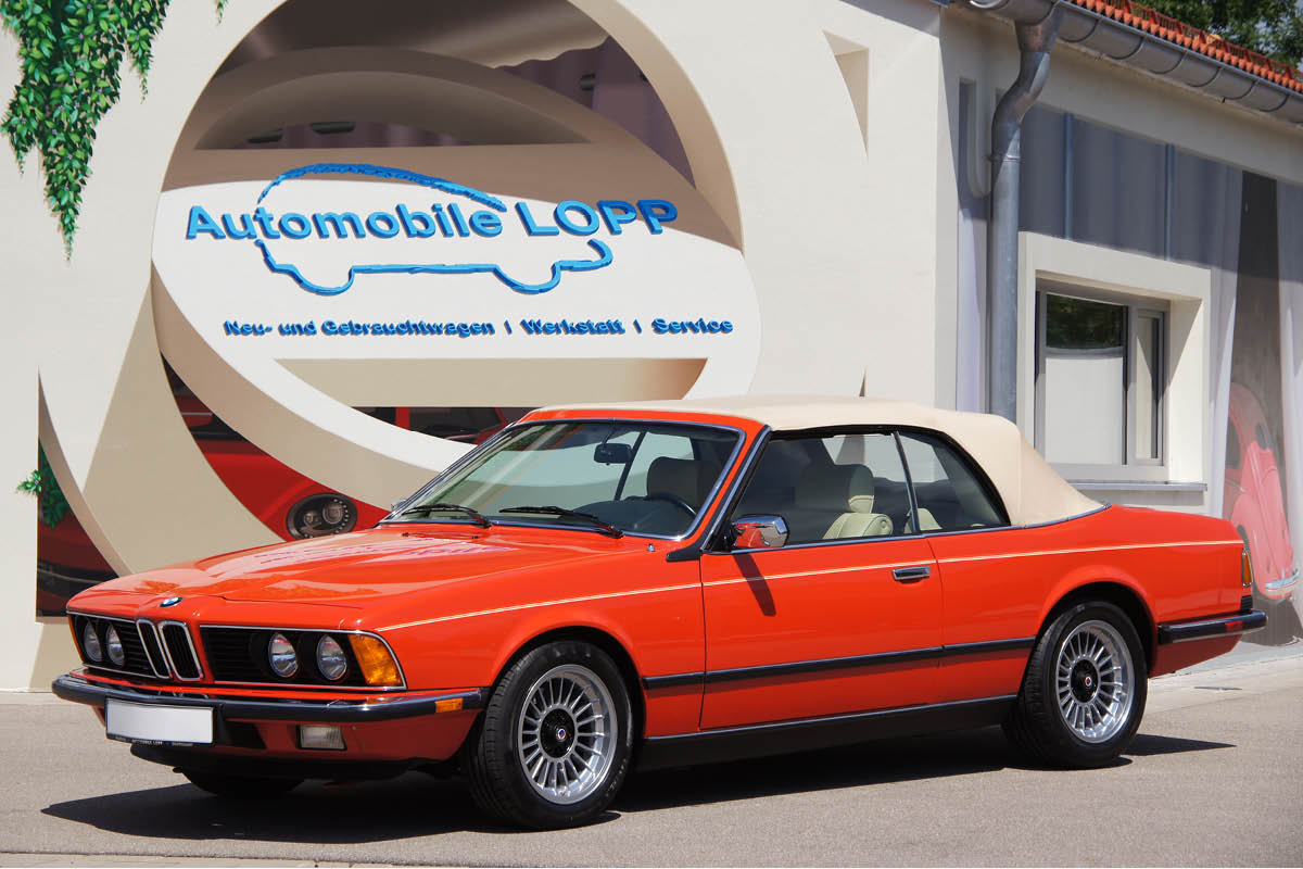 "BMW 628 CSI Cabrio ""Hammond & Thiede"""