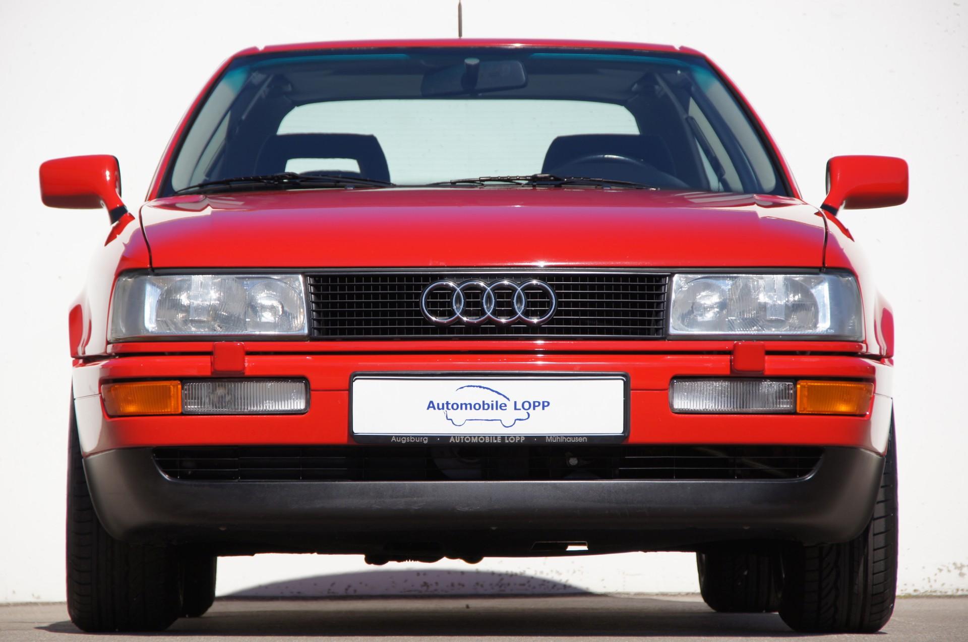 Audi Coupe Quattro 20V 1989   Automobile Lopp in Mühlhausen