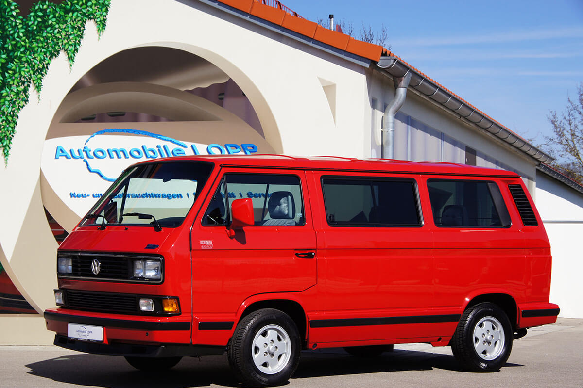 Vw T3 Multivan 2 1 1992 Automobile Lopp In Muhlhausen